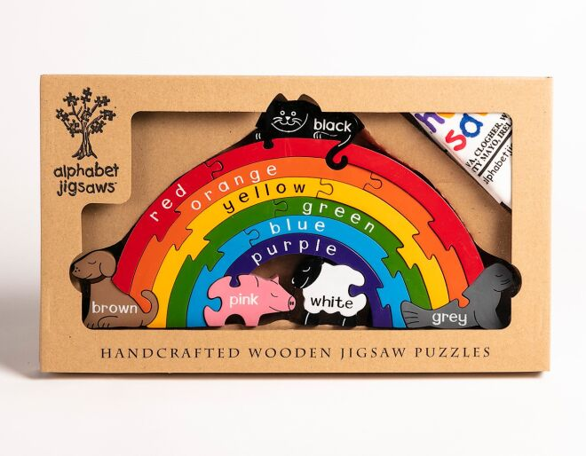Alphabet Jigsaws Rainbow Puzzle