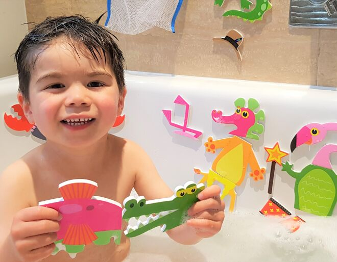 Weird & Wonderful Animals Bath Time Stickers