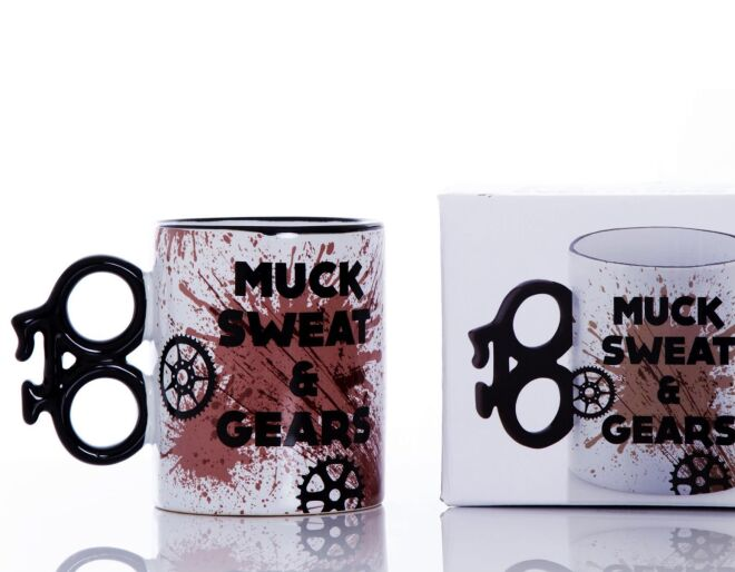 Boxer Gifts Muck Sweat and Gears Mug