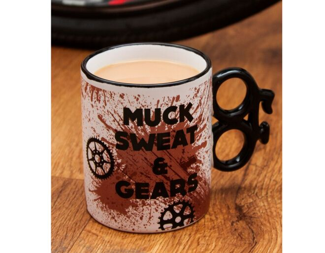 Muck Sweat and Gears Bike Mug