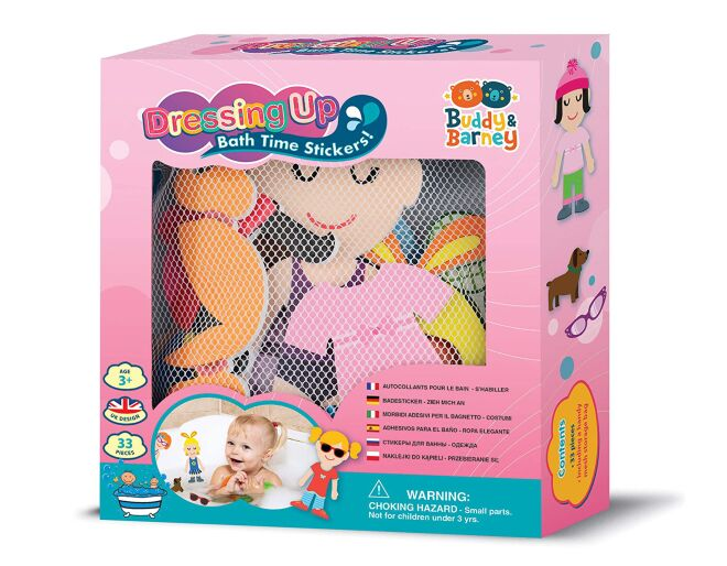 Dressing Up Bath Time Foam Stickers