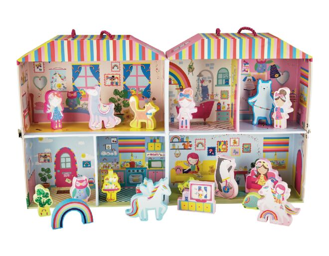 Floss and Rock Rainbow Fairy Playbox
