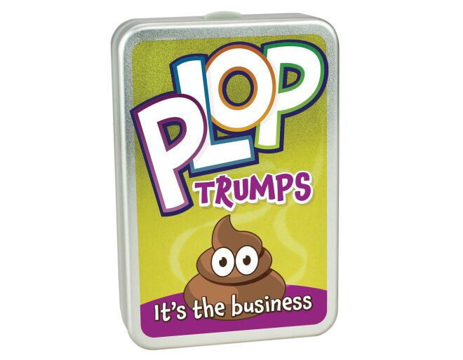 Cheatwell Plop Trumps - It's the Business! Packaging