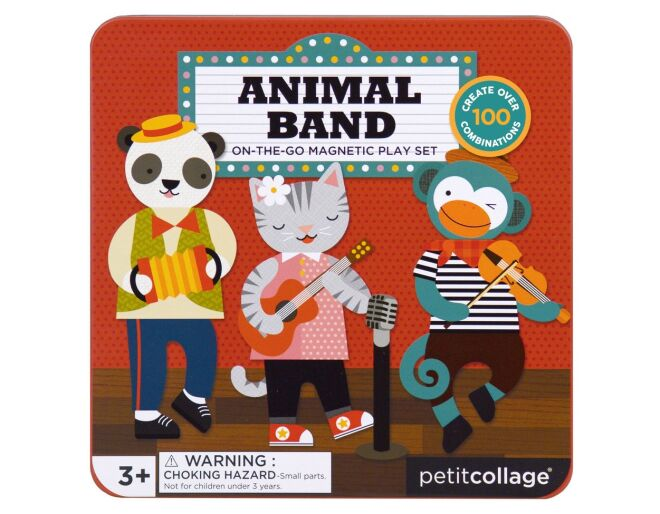 Animal Band - Magnetic Play Set