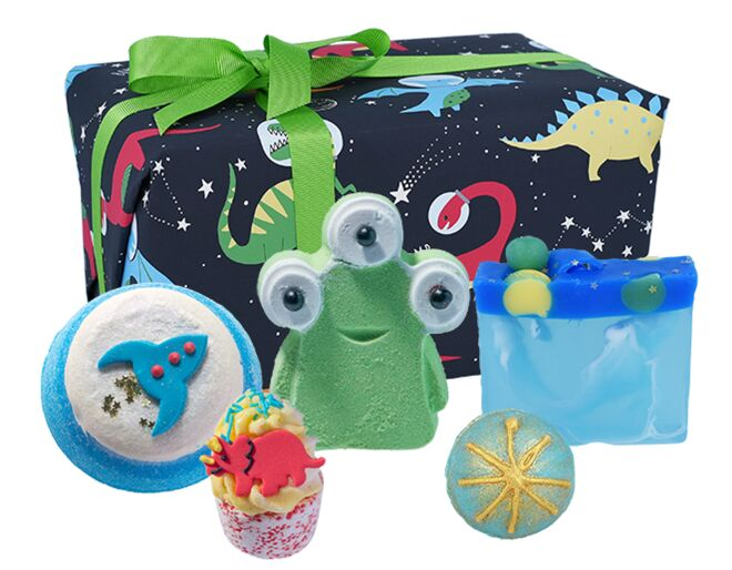 Bomb Cosmetics Dino-mite Bath Set