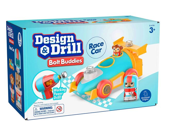 Educational Insights Race Car Design and Drill