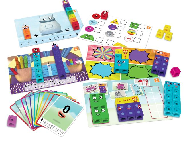 Learning Resources Number Blocks