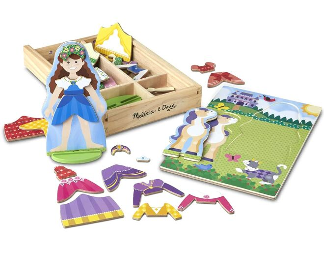 Magnetic Dress Up Princess and Pony