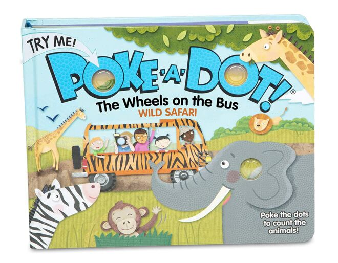 The Wheels on the Bus Poke-a-Dot Book