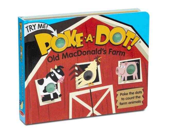 Old MacDonald's Farm Poke-a-Dot Book