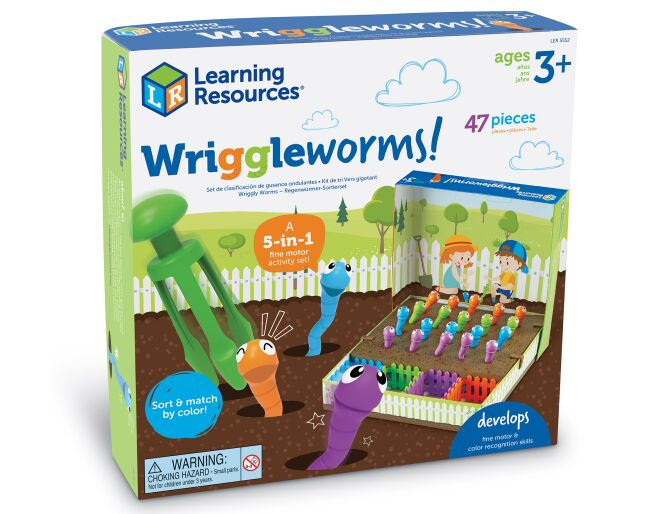Learning Resources Wriggleworms