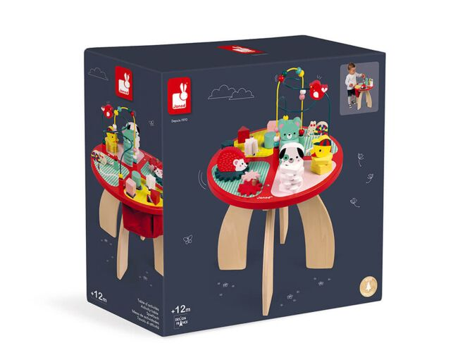 Janod Baby Forest Activity Table