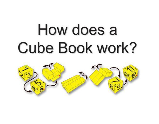 Zoobookoo Cube Book Instructions