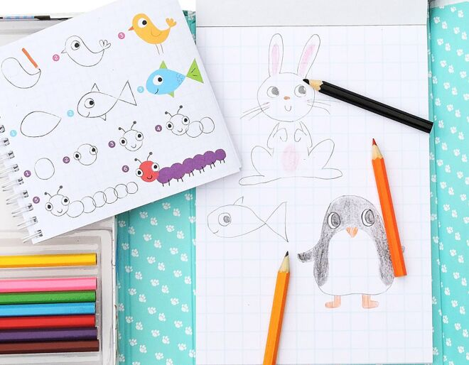 How to draw animals made easy