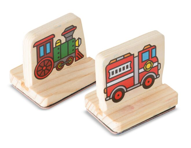 My First Stamp Set Vehicles Melissa and Doug
