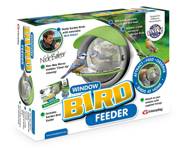 My Living World Window Bird Feeder