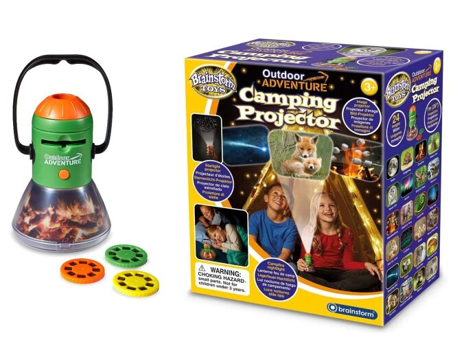 Brainstorm Toys Outdoor Adventure Camping Projector