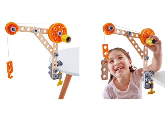 Hape Three Experiment Kit LIfestyle