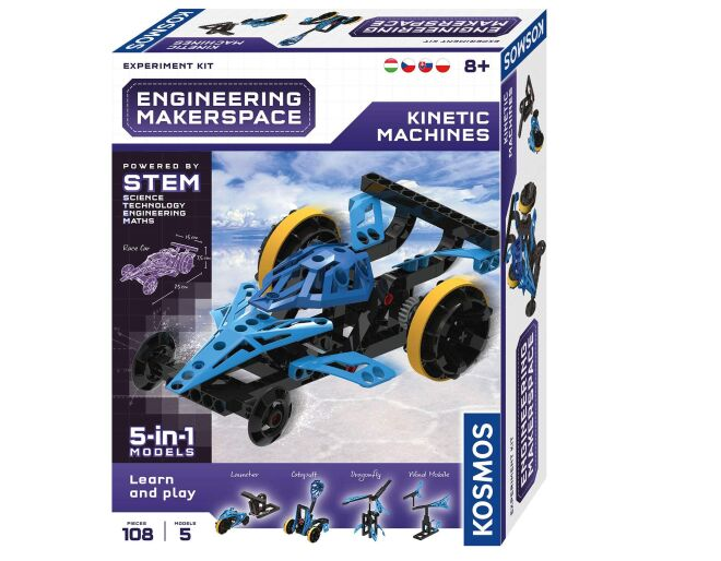Thames and Kosmos Kinetic Machines 5 in 1 Models