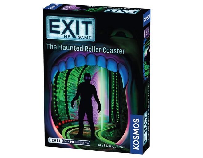 Exit The Haunted Roller Coaster