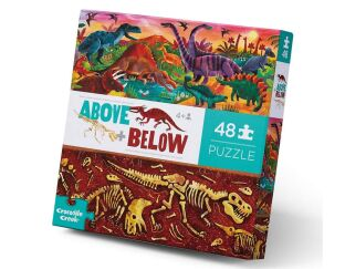 Above & Below Dinosaur Puzzle