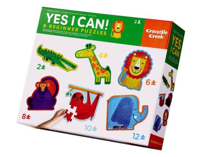 Yes I Can 6 Beginners Jungle Puzzles