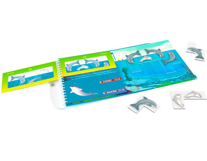 Flippin' Dolphins Magnetic Puzzle Game