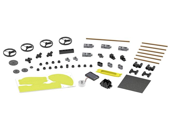 Solar Powered Rovers Parts