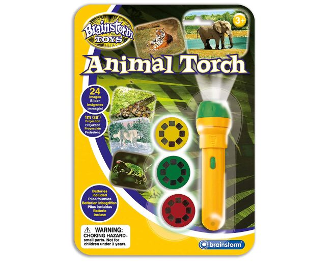 Brainstorm Animal Torch and Projector