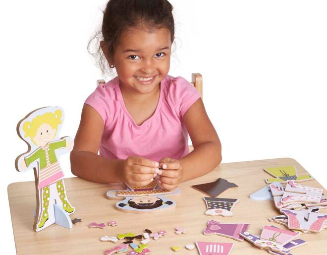 Magnetic Dress Up Dolls Accessories