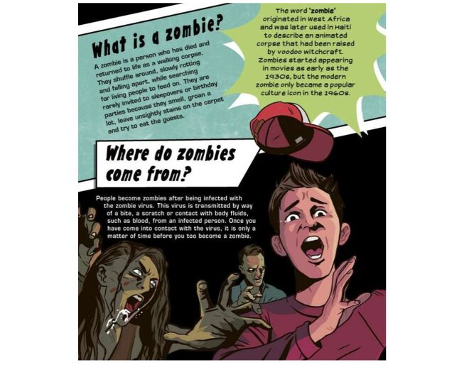 How To Survive A Zombie Attack Paperback