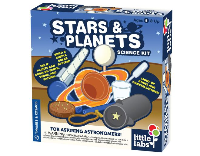 Stars & Planets Science Kit Packaging