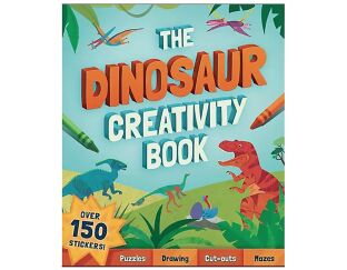 The Dinosaur Creativity Book - Roar!