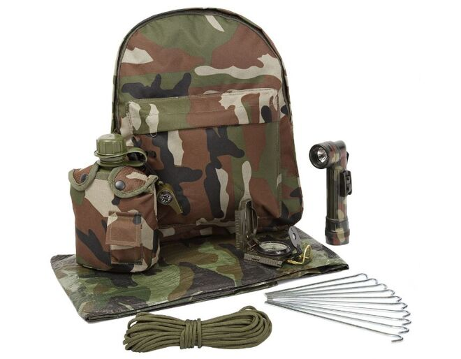 Kids Army Junior Survival Kit