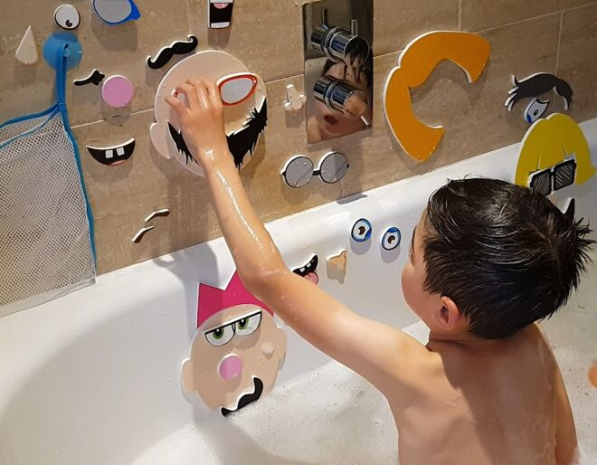 Bath Time Stickers