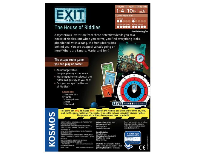 House of Riddles Exit Game