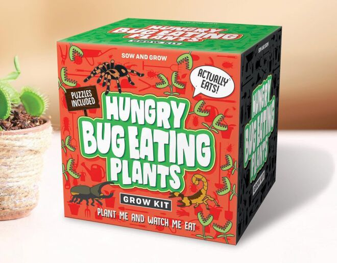 Hungry Bug Eating Plants Gift Republic