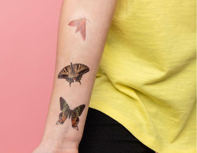Butterfly Tattoos for Children