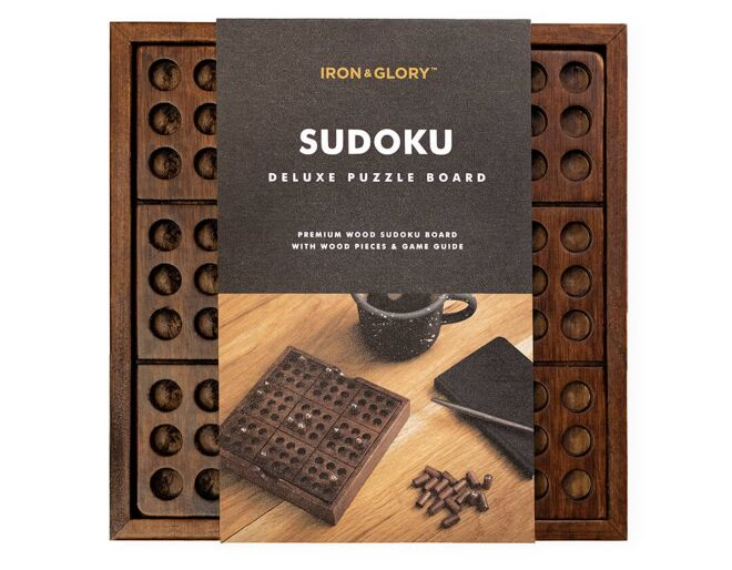 Luckies of London Sudoku Deluxe Puzzle Board