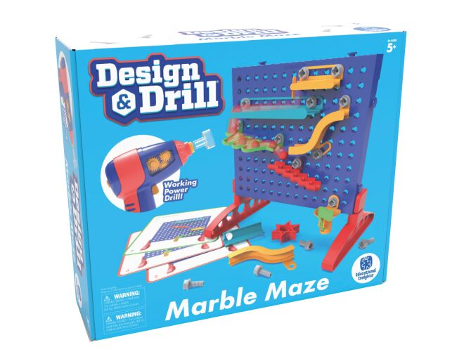 Design and Drill Marble Maze