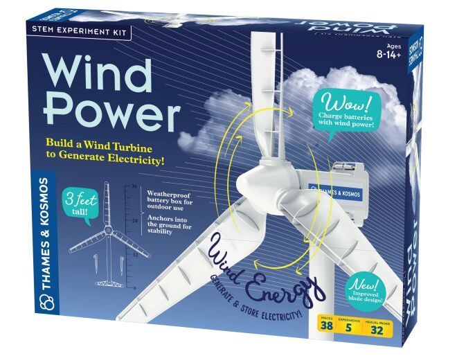 Thames and Kosmos Wind Power Experiment Kit