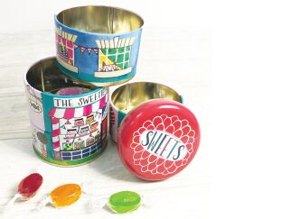 The Sweetie Jar Stacking Tins