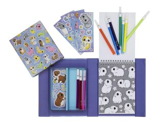 Tiger Tribe Baby Animals Colouring Set