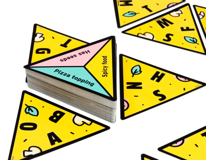 P is for Pizza Word Game