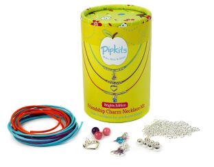 Pipkits Friendship Charm Necklace Kit Brights Edition