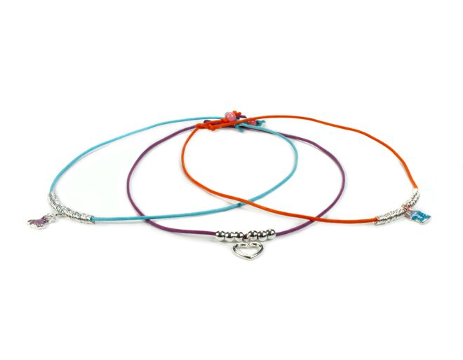 Pippin Friendship Charm Necklace Kit Brights Edition