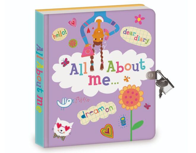 All About Me Lockable Diary