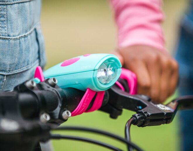 Turquoise Mini Hornit - For Bikes and Scooters
