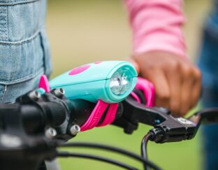Purple Mini Hornit - For Bikes and Scooters
