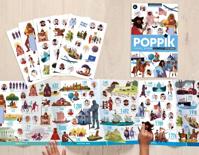 Poppik Discovery Stickers